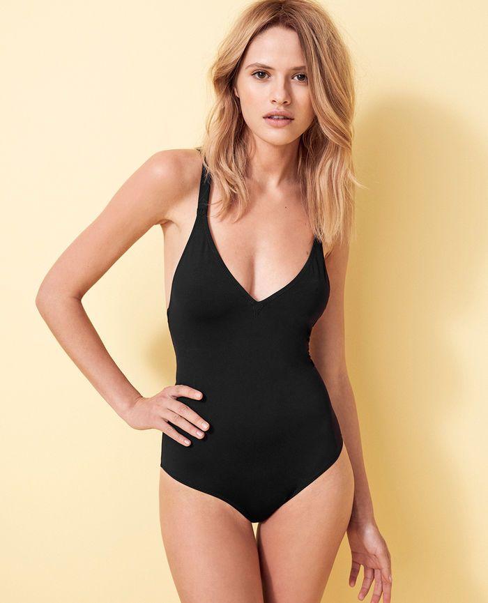 0a91672db1ca9 IMPALA Black Swimsuit   fur   Maillot de bain, Maillot de bain noir ...