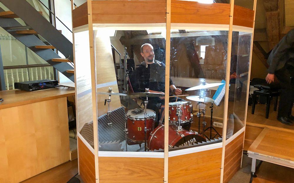 Schlagzeug Schallkabine Zum Selber Bauen Selber Bauen