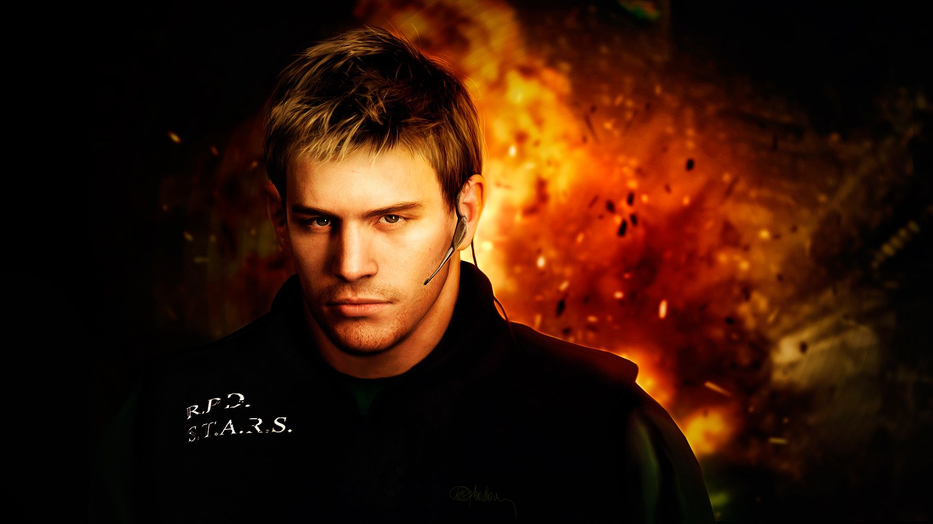 Photorealistic Chris Redfield Resident Evil 5 By Push Pulse