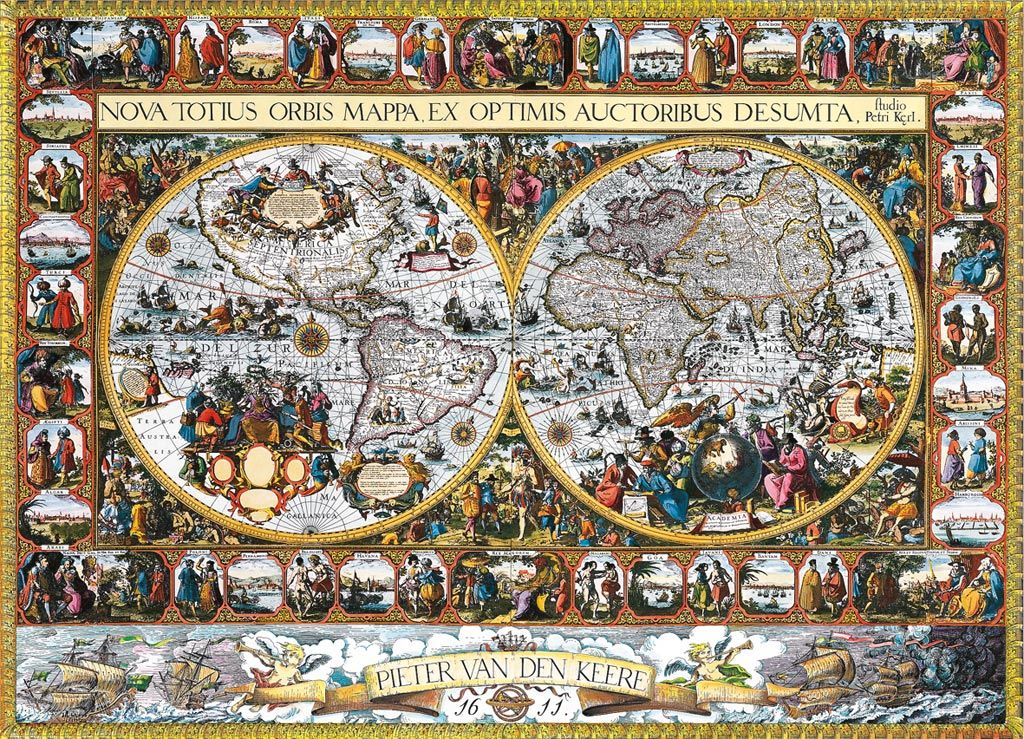 Ravensburger jigsaw puzzle 5000 pieces antique world map best ravensburger puzzle 5000 pieces antique world map you sciox Choice Image