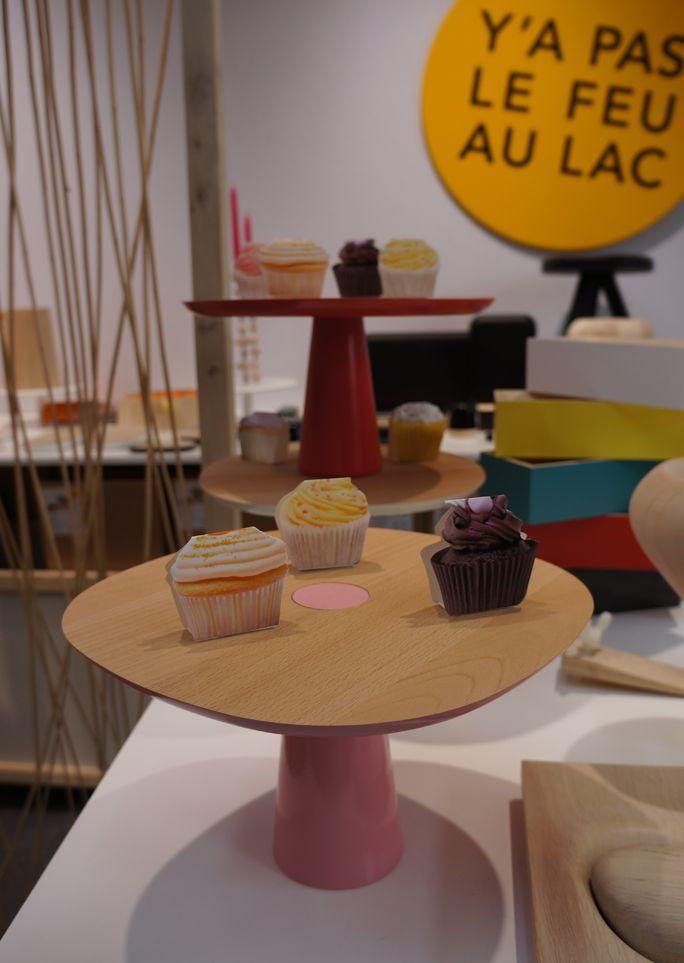 Y'a Pas Le Feu Au Lac display at France Design, Milan