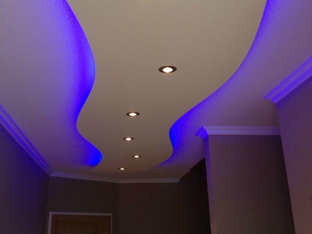 Indirekte Beleuchtung Abgehängte Decke deckensegel abgehängte decke mit indirekter beleuchtung
