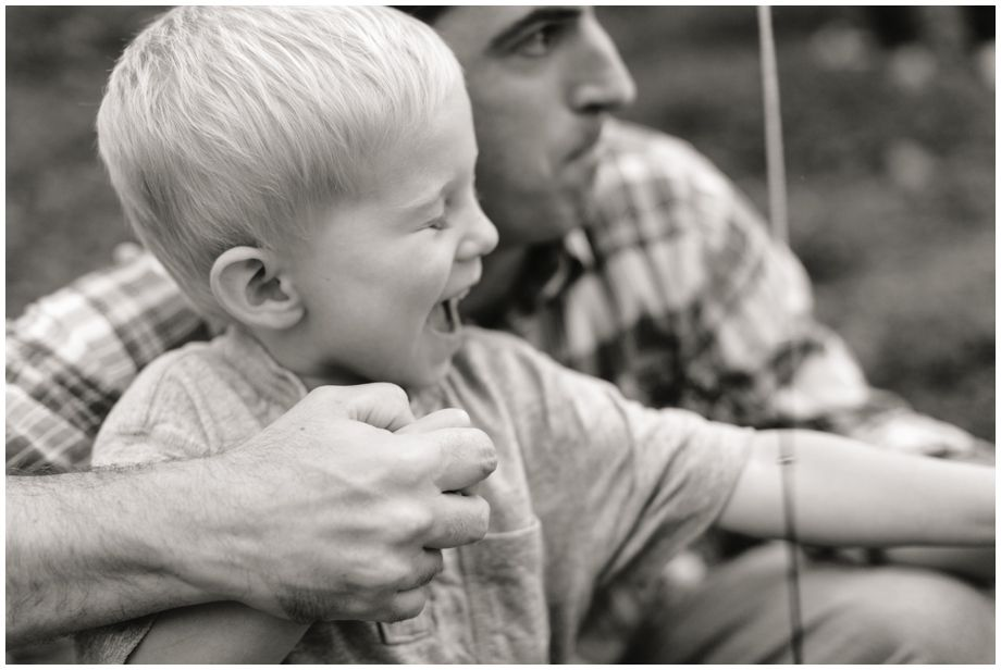 Father and son photographed by Ben Finch. Love this!