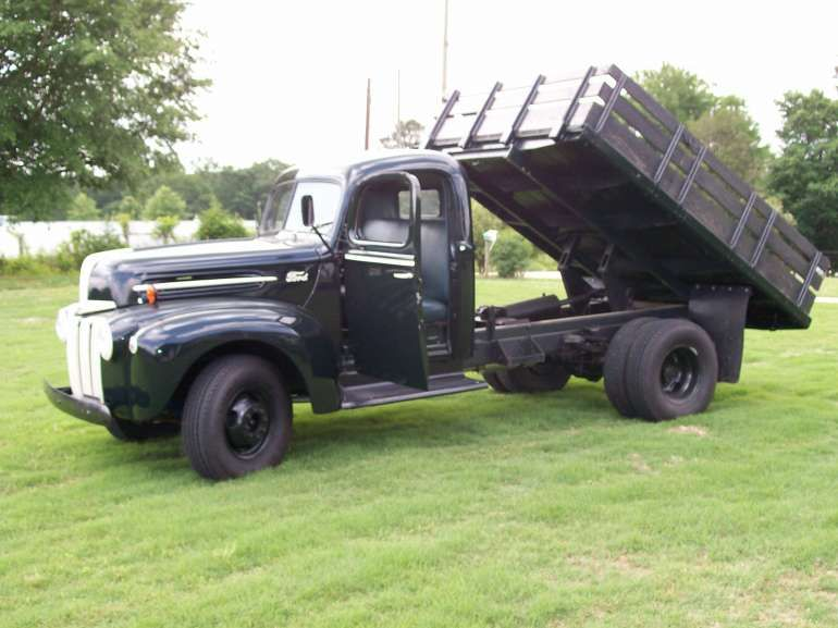 1947 Ford Pickup 1 2 Ton Dump Truck With 9 Ft Flatbed For Sale In Homer Georgia Dump Trucks For Sale Trucks Dump Trucks