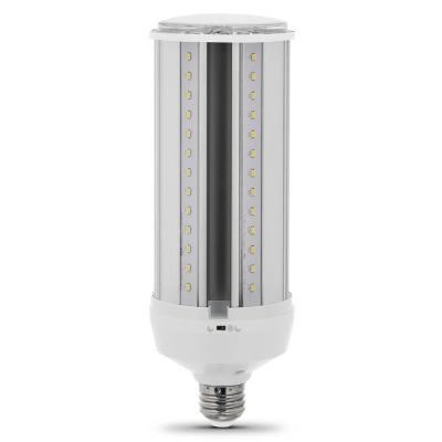 Feit Electric 300 Watt Equivalent Led Corn Cob Motion Activated High Lumen Utility Led Light Bulb In Daylight 4 Pack Led Closet Light Led Garage Lights Outdoor Light Bulbs