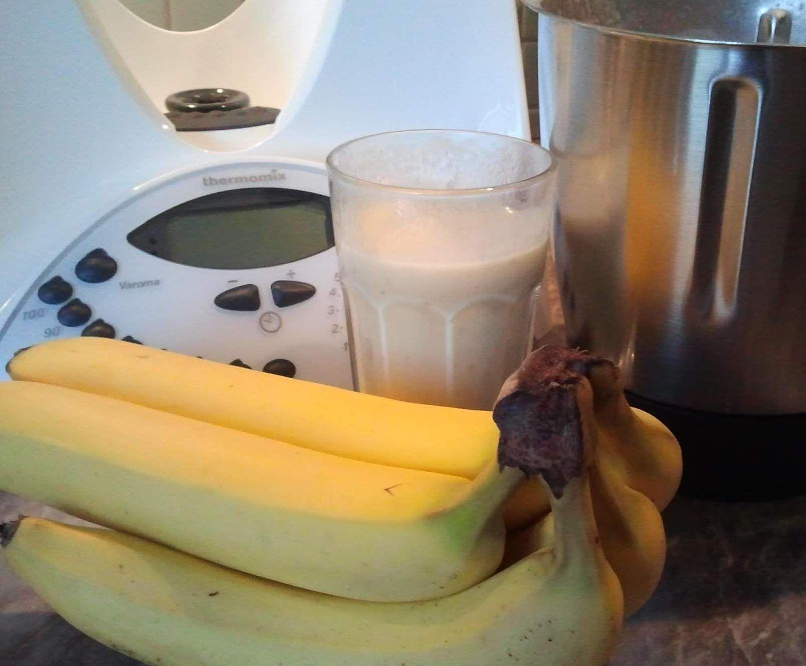bananenshake mit vanilleeis rezept vanilleeis