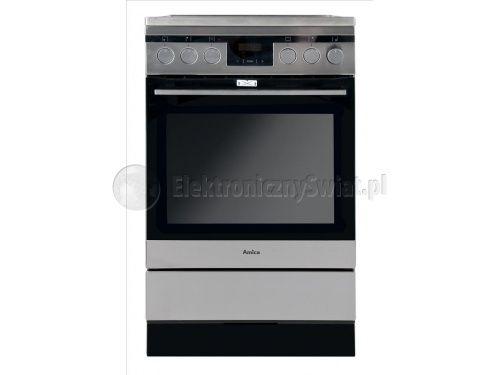 Kuchnia Amica 514ce3 413tskdhaq Xl Plyta Ceramiczna Piekarnik Elektryczny Kitchen Appliances Kitchen Oven
