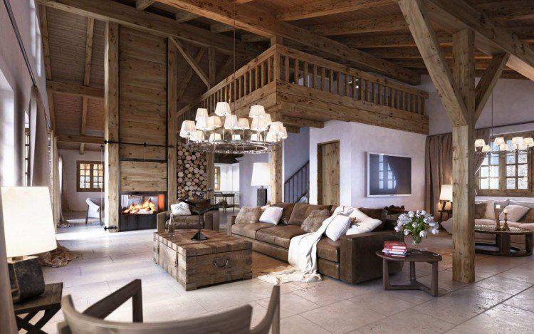 Changez De Style Et Adoptez Une Decoration Interieure Style Chalet