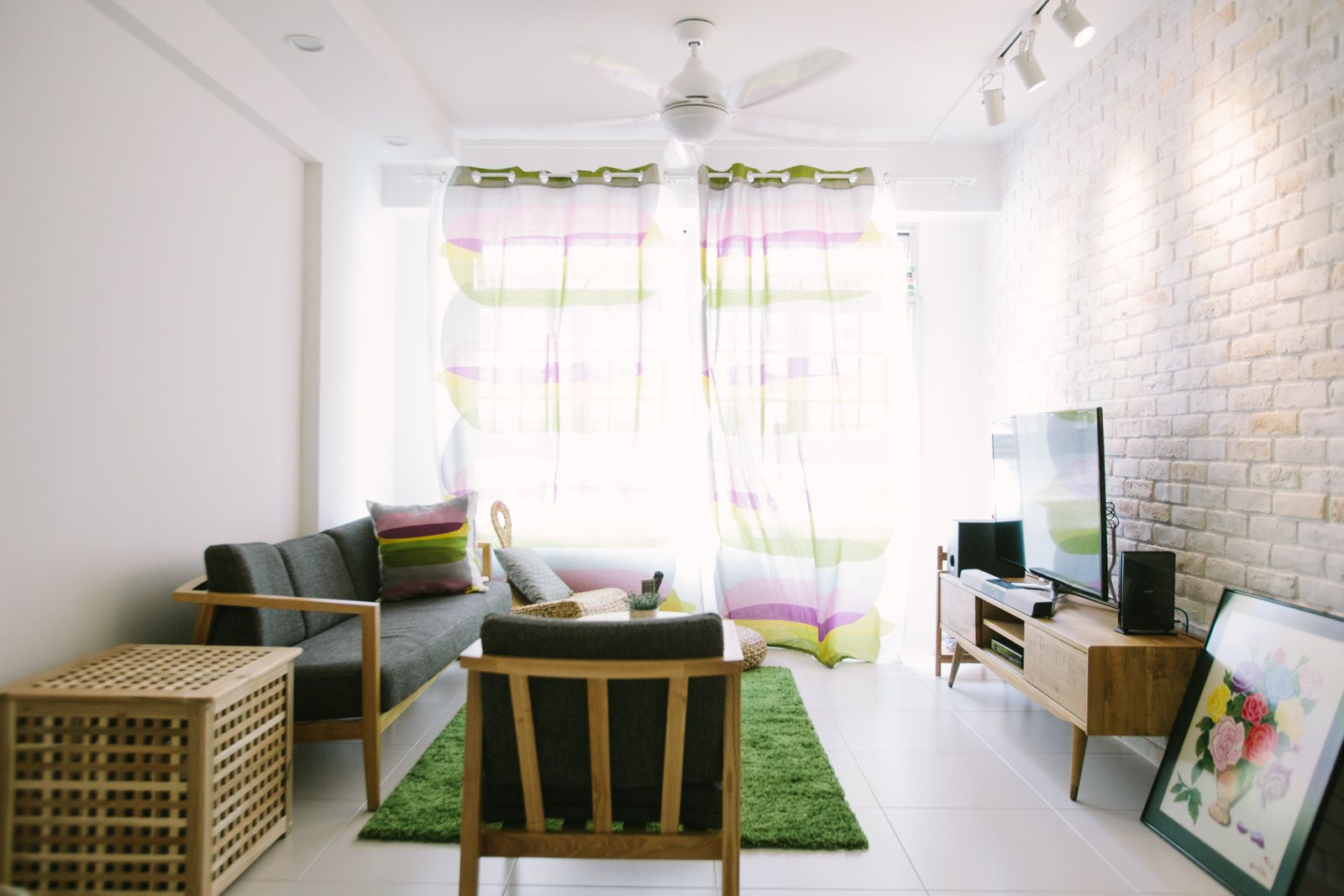 Yishun Ave 11 4Room Hdb  Z L Construction Pte Ltd  Home And Endearing Hdb 4 Room Living Room Design Design Decoration