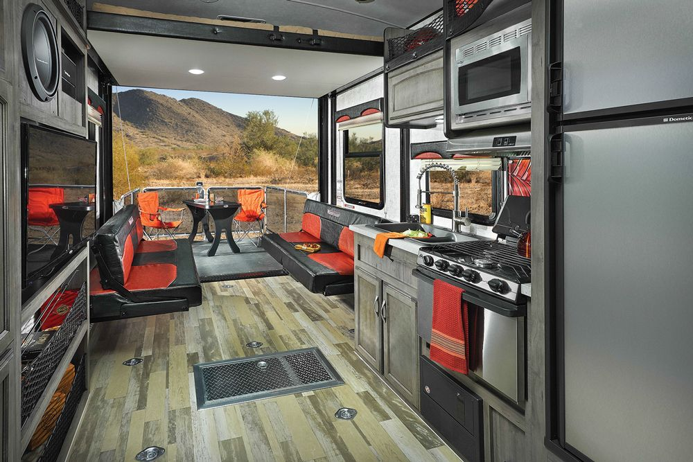 First Time's the Charm | Sportsmobile Dreams | Toy hauler rv ... on
