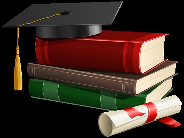 Graduation Cap Books And Diploma Png Clipart Graduation Cap Clipart Graduation Graduation Book
