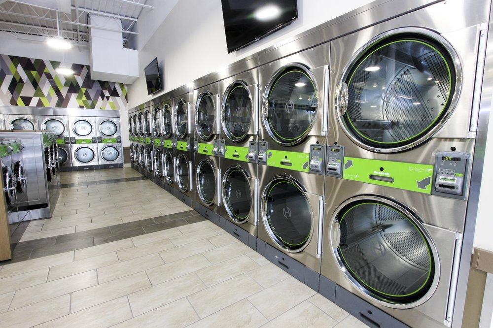 Modern And Attractive Laundry Shop Interior Design Ideas Shop