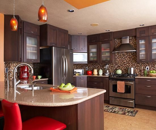 Kitchen Design Classes Impressive Ssu Home  Brown Kitchens And Future Decorating Design