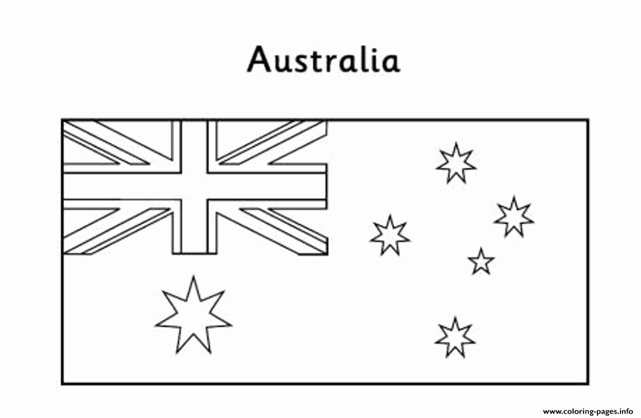 28 Australia Flag Coloring Page With Images