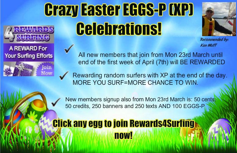 Crazy Easter Eggs Promo