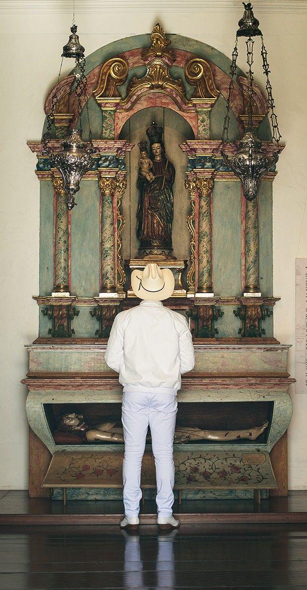 Padre Alessandro Campos (Foto: Cauê Moreno/ Ed Globo)