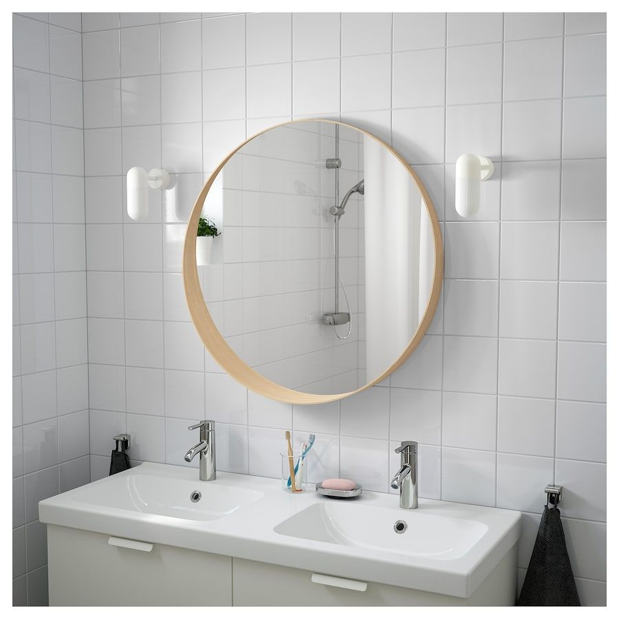 Specchi Ikea Da Bagno.Stockholm Specchio Impiallacciatura Di Frassino Specchi