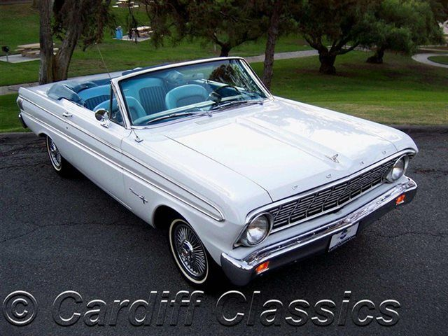 1964 Ford Falcon Sprint Convertible V8 Click To See Full Size