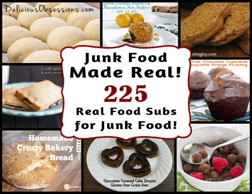 225 real food recipes to replace your favorite junk foods low 225 real food recipes to replace your favorite junk foods healthy forumfinder Images