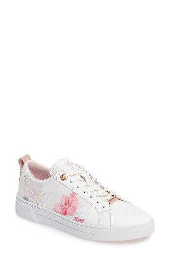 nice shoes classic styles clearance sale Free shipping and returns on Ted Baker London Orulo Floral Sneaker ...