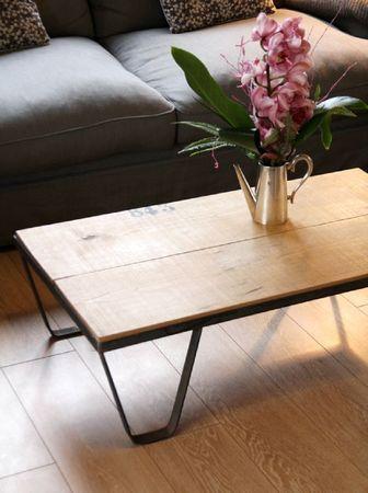 La Table Basse A La Facon De Barnabe Aime Le Cafe Table De Salon Table Basse Table Basse Bois