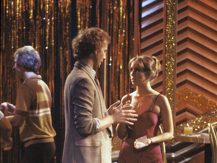 Luke hires Laura at the campus disco Short on cash, Laura asks Luke for a job at the campus disco. Its there that Luke later professes his love for -- and but then rapes -- Laura. #GH50
