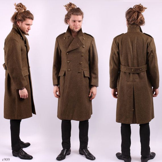 1000  images about long coat on Pinterest | Wool Military style