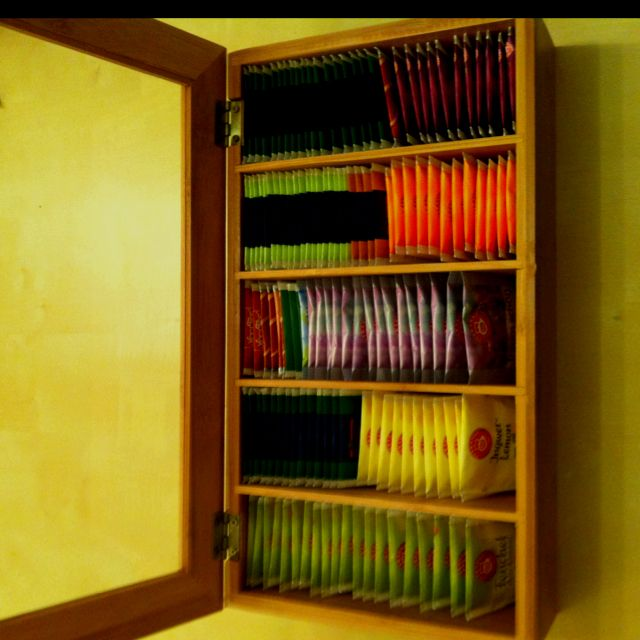 This Is My Fave Tea Storage Idea I Have Seen So Far!