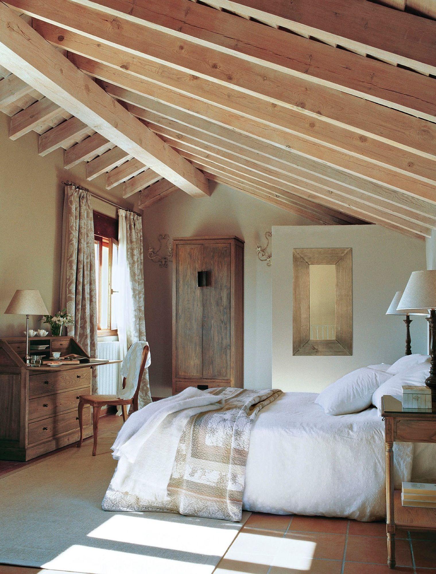 dormitorios rústicos con mucho encanto  Bedrooms Interiors and