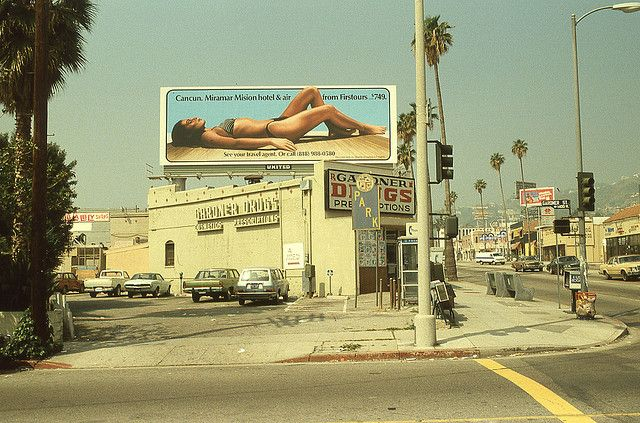 Gardner & Sunset,  Hollywood