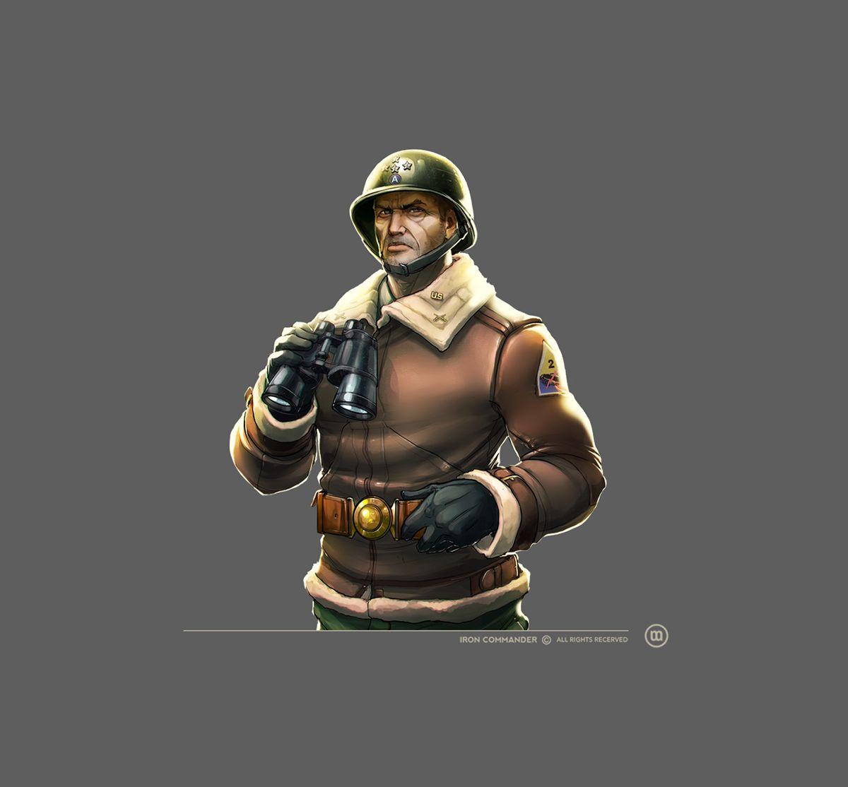 IRON COMMANDER - character design on Behance