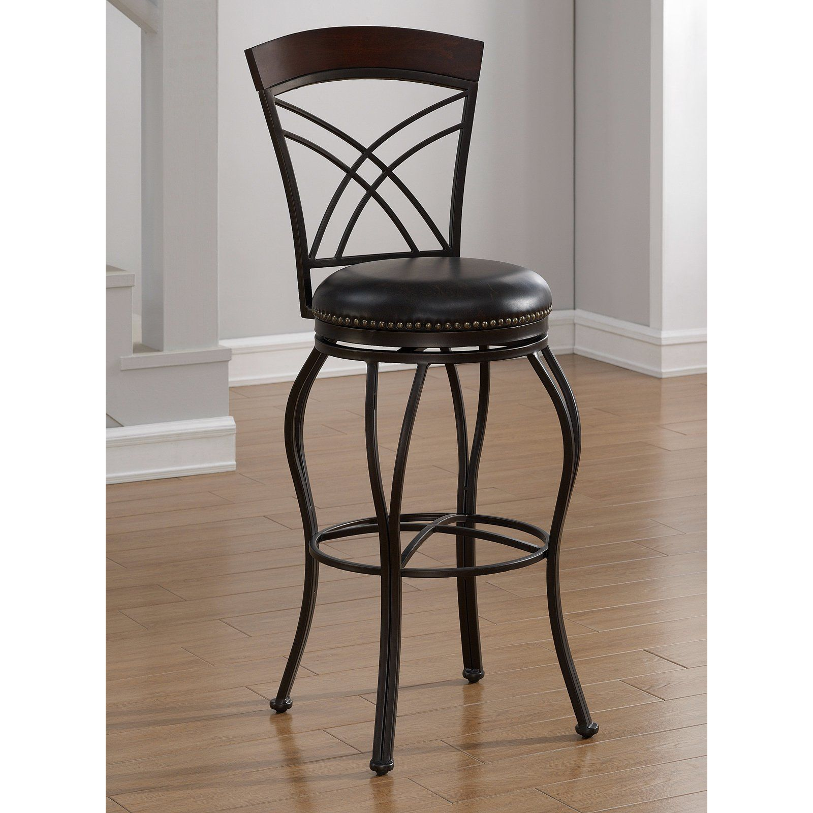 American Heritage Billiards Caprice Extra Tall Bar Stool | From  Hayneedle.com