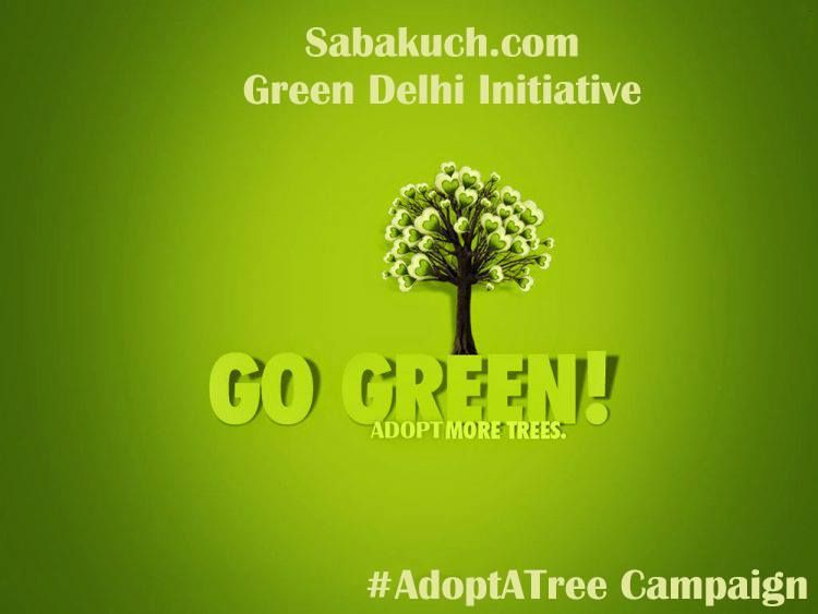 Adopt a tree campaign save trees they will save you