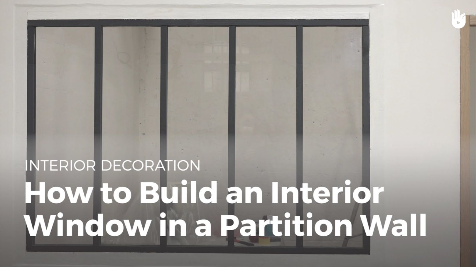 How To Build An Interior Window In A Partition Wall Diy Projects