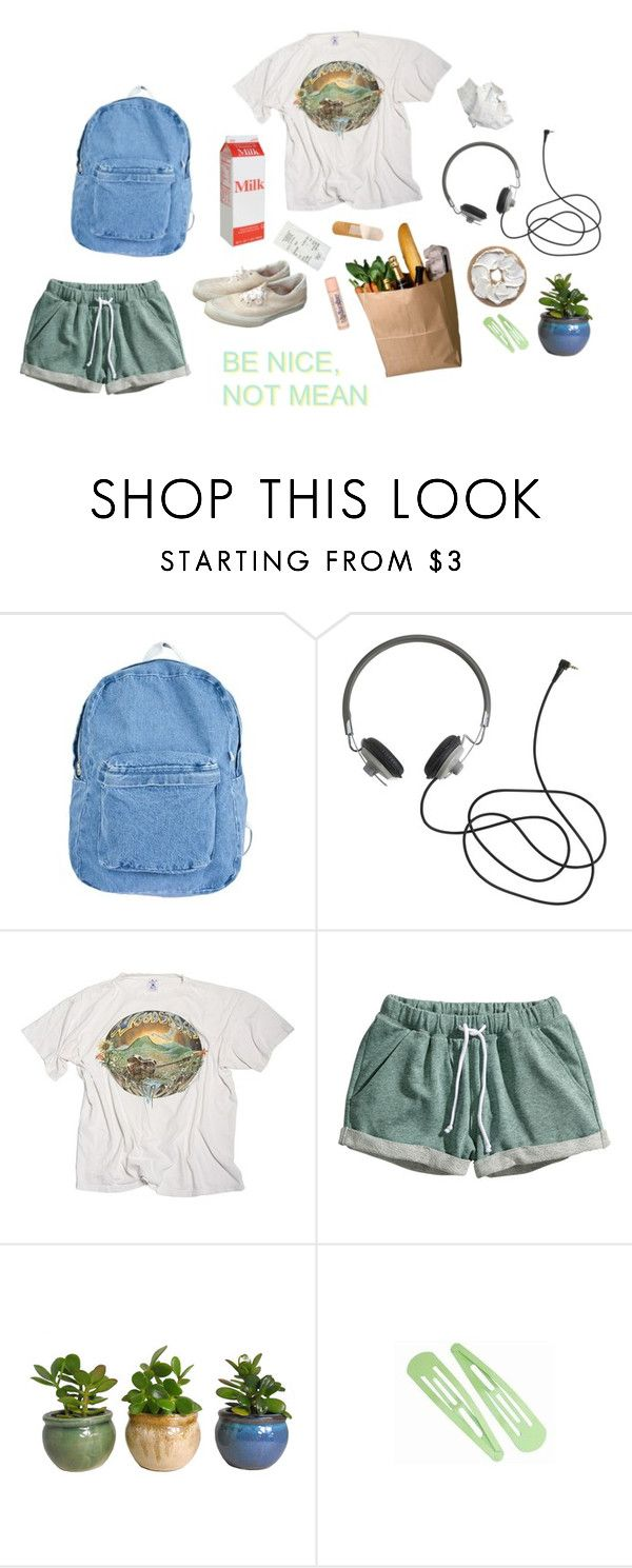 """butterfly"" by kampow ❤ liked on Polyvore featuring American Apparel and H&M"