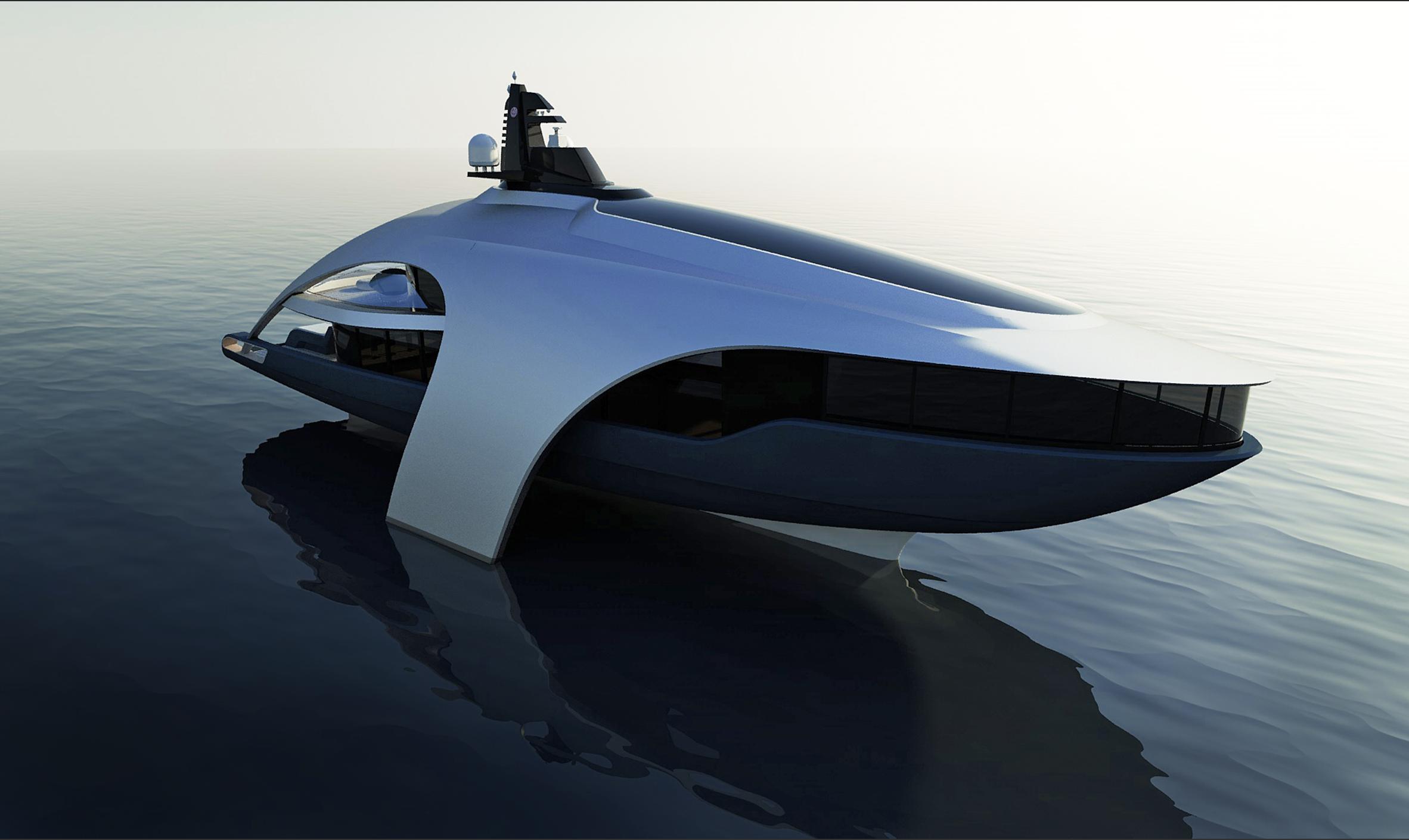 25m Swash Yacht, Hydro Swash Design by Focus Yacht Design