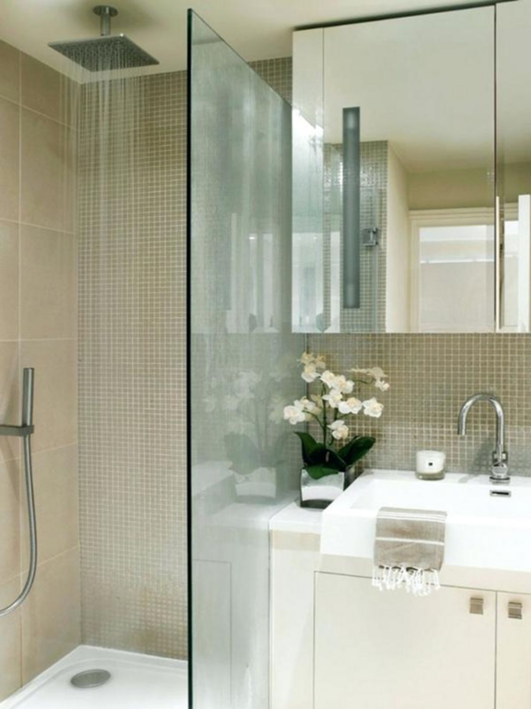 21 Most Awesome Small Glass Shower Design Ideas For Advanced