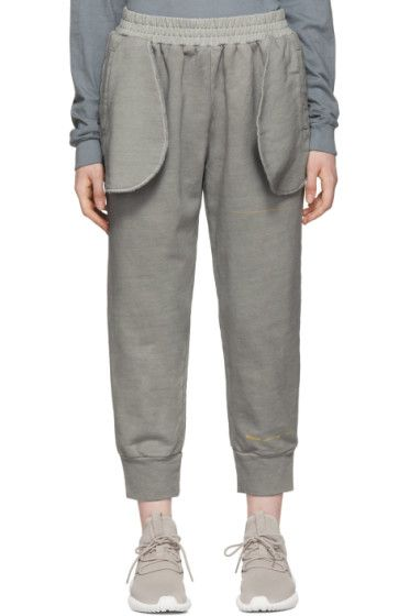 Grey Compressed Lounge Pants A-Cold-Wall*