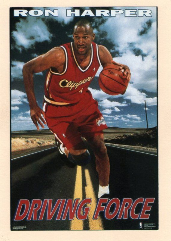 Ron Harper  Design by the Costacos Brothers  | 90's