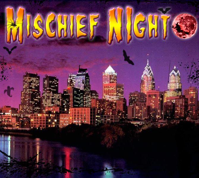 Mischief Night October 26 Happy Birthday Me Happy Birthday Poster