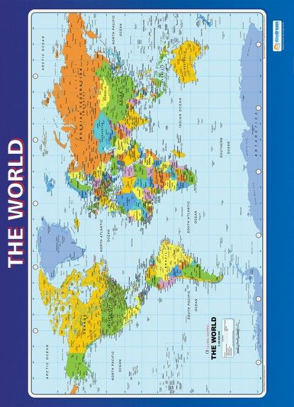 The world poster geography posters pinterest geography daydream educations key stage 2 posters are great learning and teaching tools the engaging educational posters are guaranteed to improve understanding and gumiabroncs Image collections