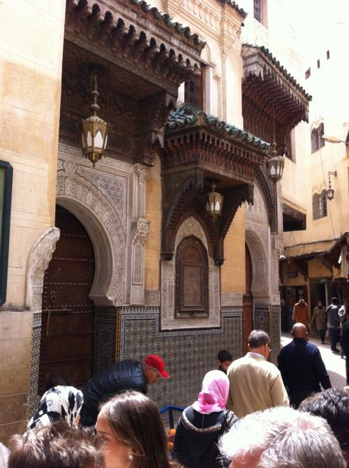 Fez, Morocco (blog about Decoration – Ancient & Modern, A blog by Thomas Jayne and the Jayne Design Studio)