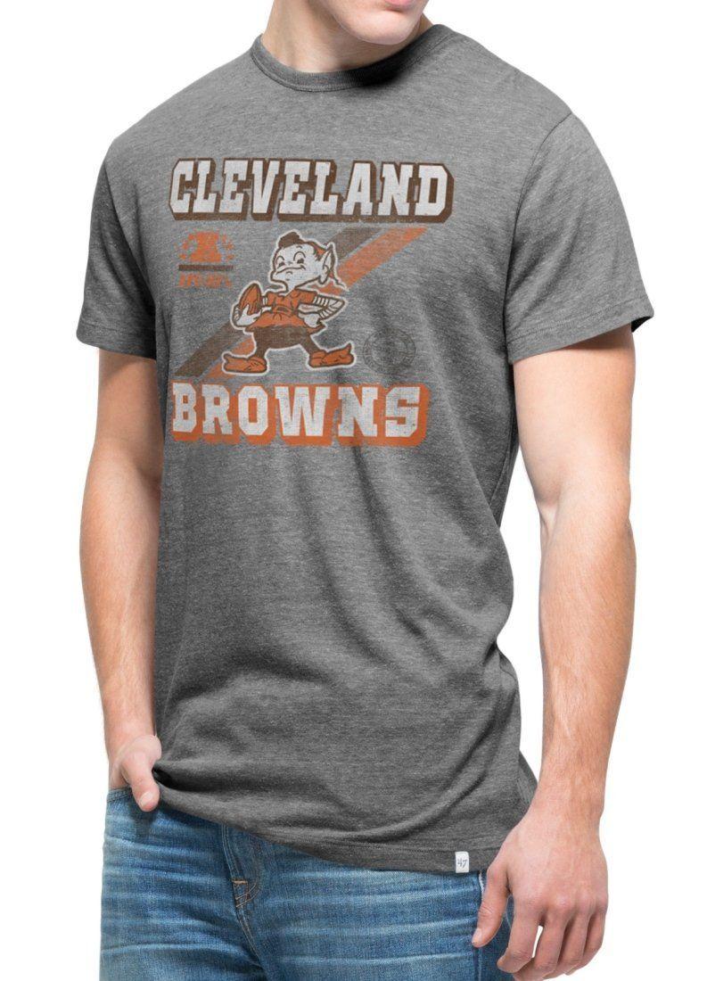 "Cleveland Browns NFL '47 Brand Vintage ""TriState Retro"" T"