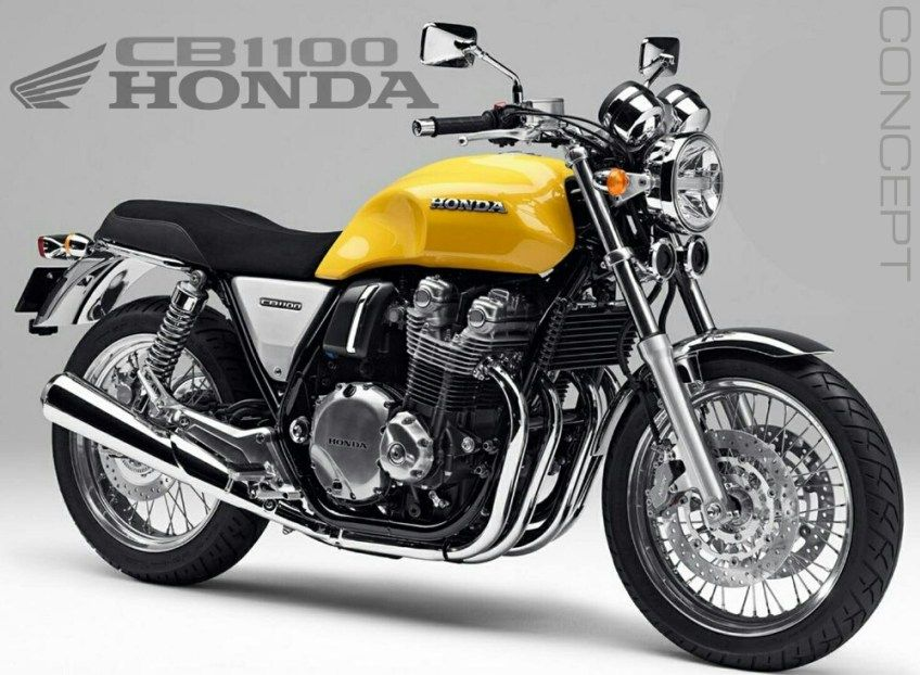 2016 Honda CB1100 Concept Review