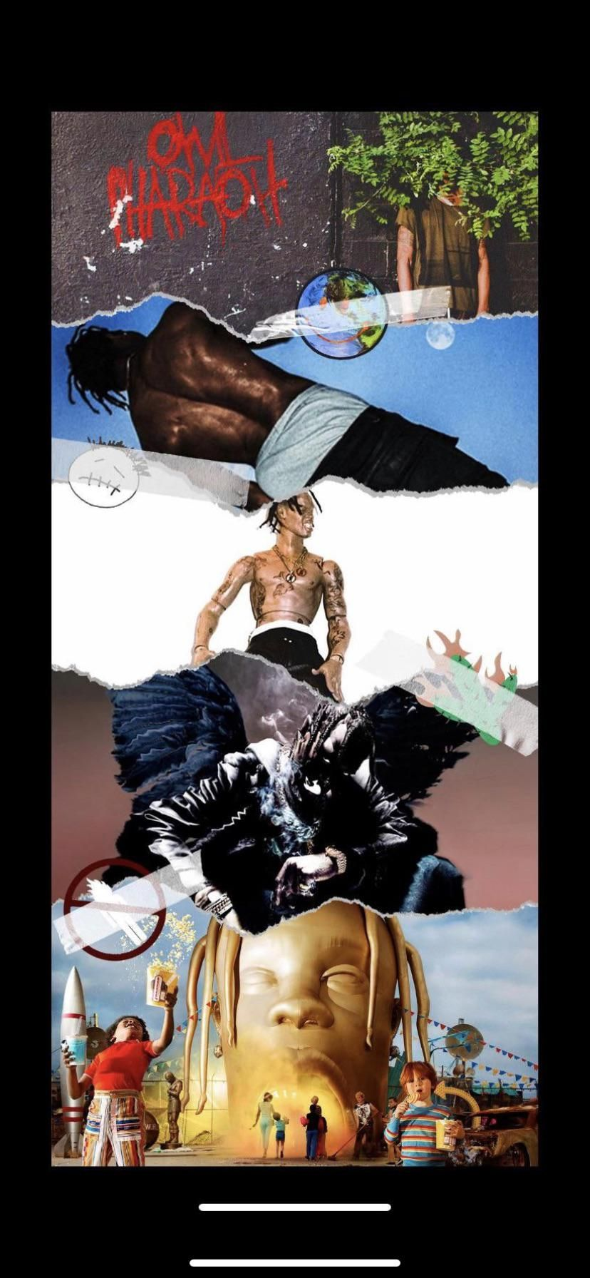 Hey guys I have this Travis Scott wallpaper for my phone