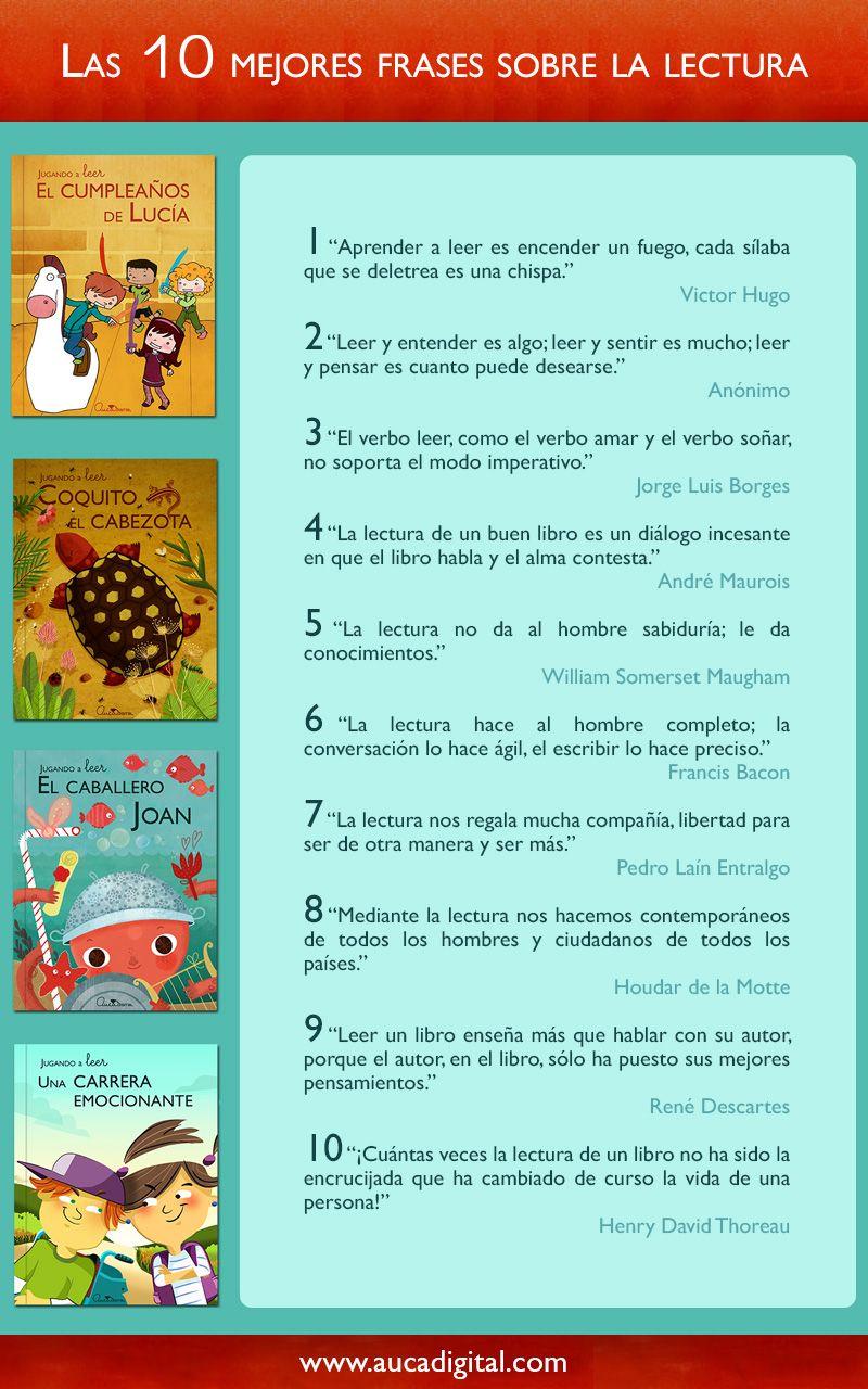 Las 10 Mejores Frases Sobre La Lectura Frases De Lectura