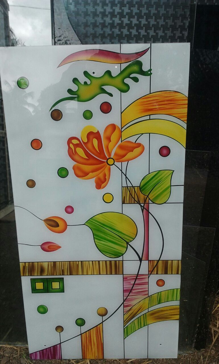 Glass colour etching in 2019 glass painting designs