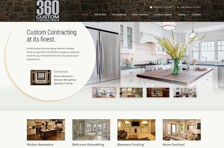 Website Design For Home Renovation Businesses In Canada   Toronto, Calgary,  Edmonton And Ottawa