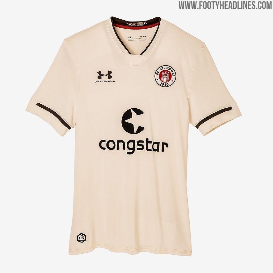 Cream St Pauli 20 21 Home Away Kits Released Footy Headlines Bundesliga Logo Goalkeeper Shirts Goalkeeper Kits