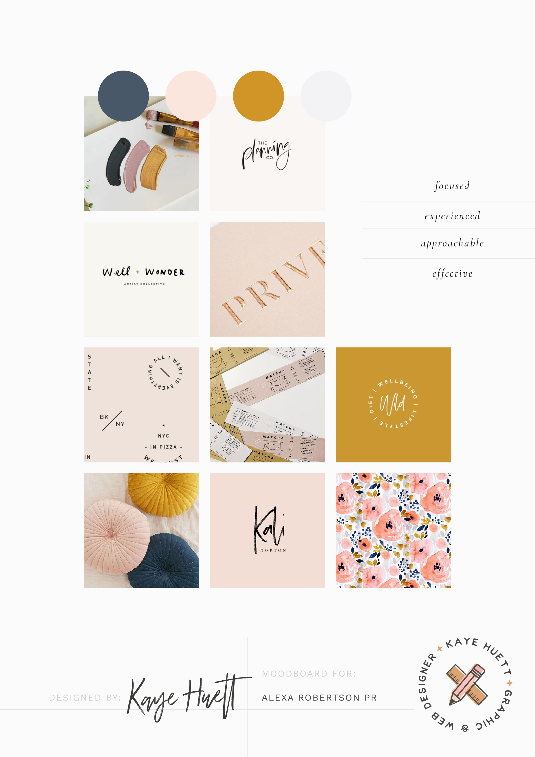 Creating The Moodboard For The Branding For A Freelance Pr Who Specialises In The Classica Logo Branding Identity Branding Design Inspiration Mood Board Design